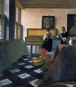 L'oreille de Vermeer : Musique et Peinture dans les Flandres du XVIIe siècle